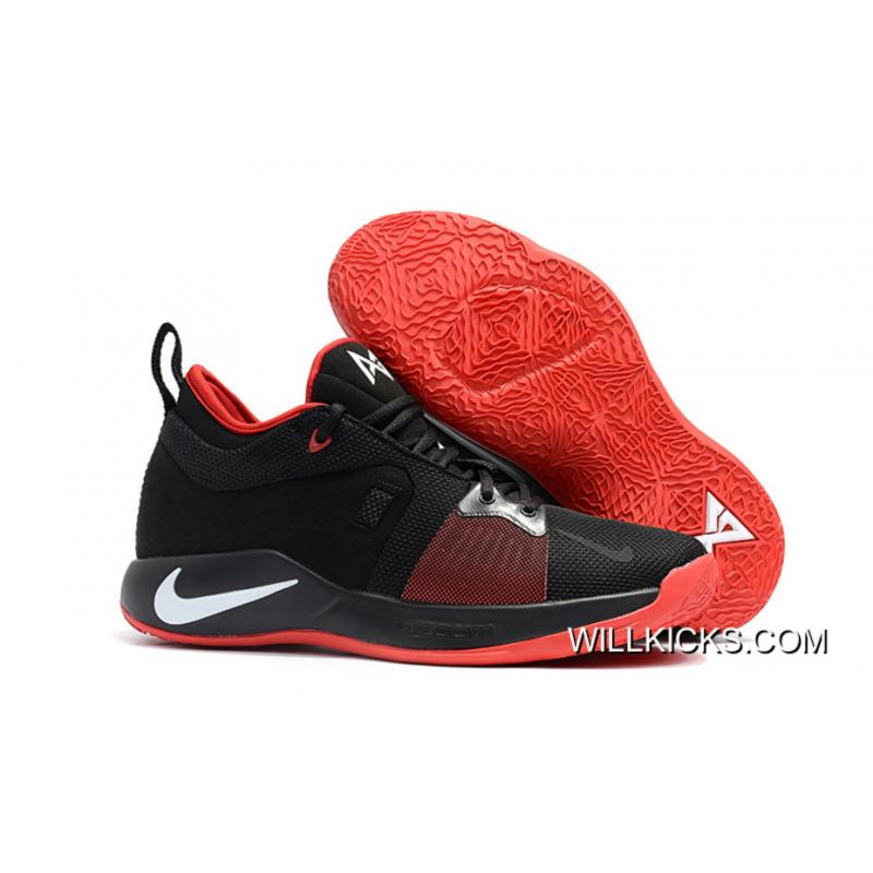 dcd77c5485b Super Deals Nike PG 2 Black University Red-White ...