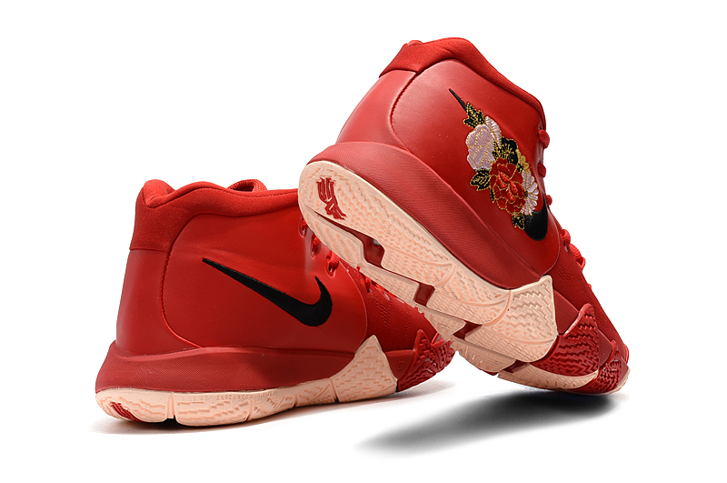 """4630c92aafe1 Discount Nike Kyrie 4 """"Floral"""" Red Peony"""