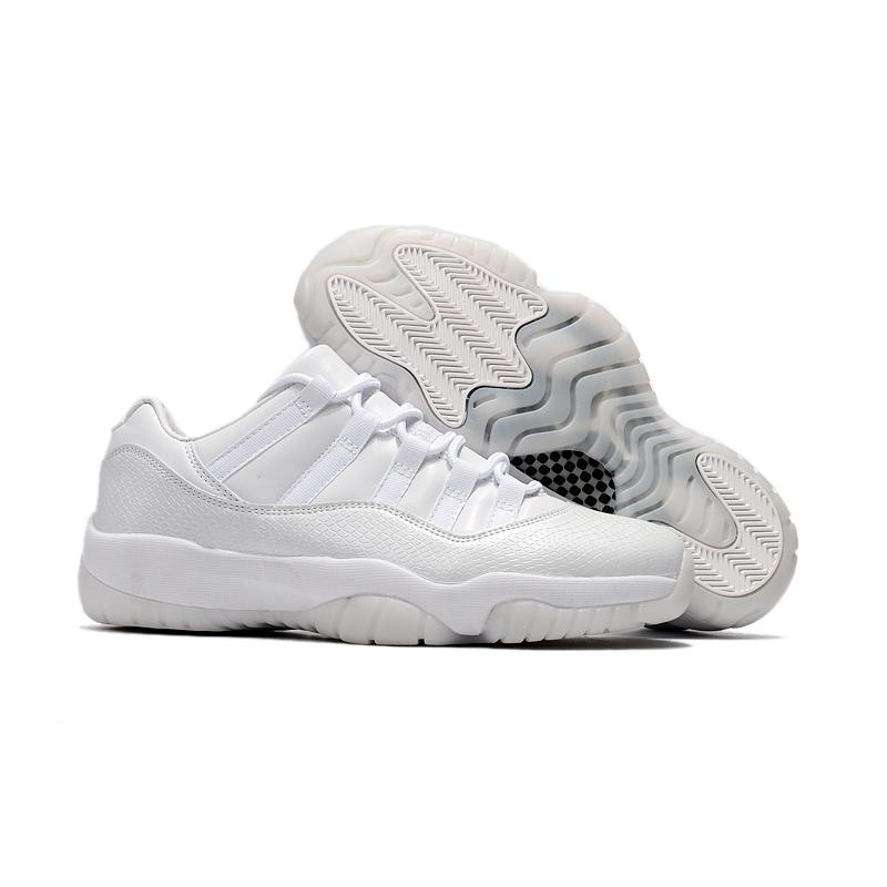 "17caf00921accd Air Jordan 11 Low ""Frost White"" White White-Pure Platinum New Style ..."