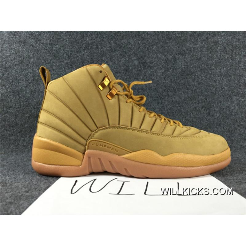 huge discount bd431 33040 Air Jordan AJ 12 Retro PSNY Wheat Lastest