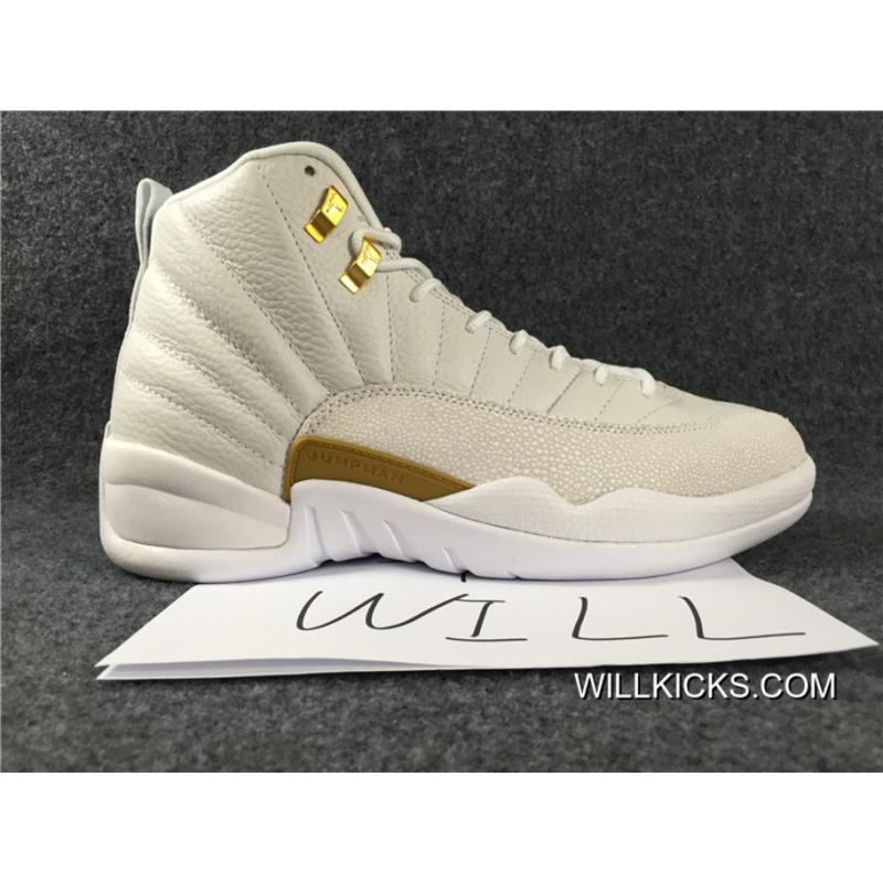 on sale 7d659 321cb Authentic Air Jordan 12 OVO White For Sale