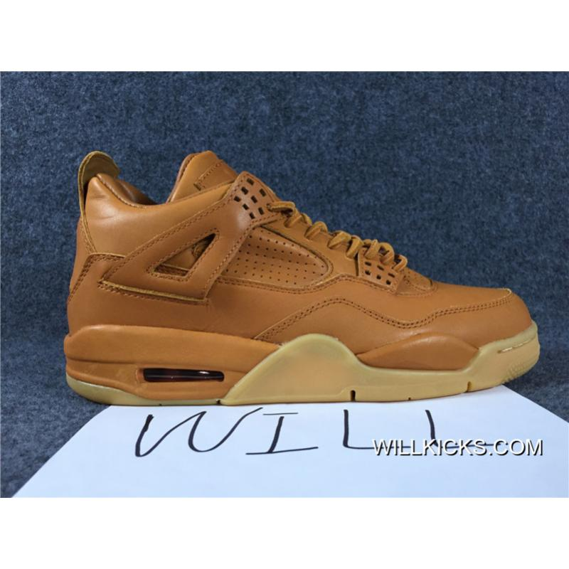 4ddfd3d1c22711 Air Jordan 4 Retro Premium 30th GG Brown Best ...