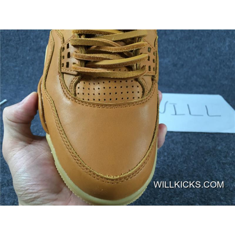 d3df1b665a94c6 ... Air Jordan 4 Retro Premium 30th GG Brown Best ...