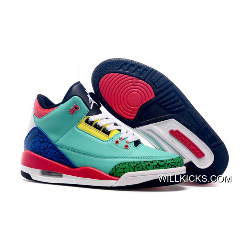 "0ee111c3ec3bc0 New Release Air Jordan 3 GS ""Bel-Air"" ..."