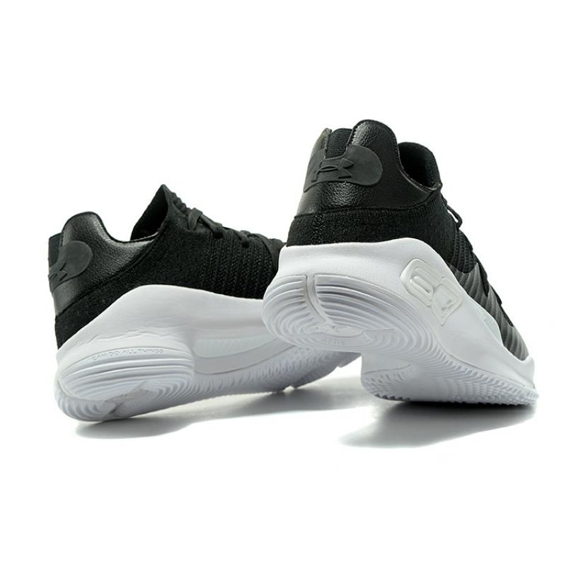 Girls Under Armour Curry 4 Low Black