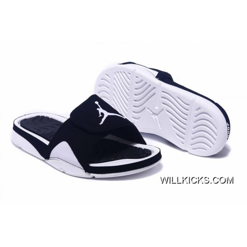 b09a98e7f Discount Air Jordan Hydro IV Retro Black White ...