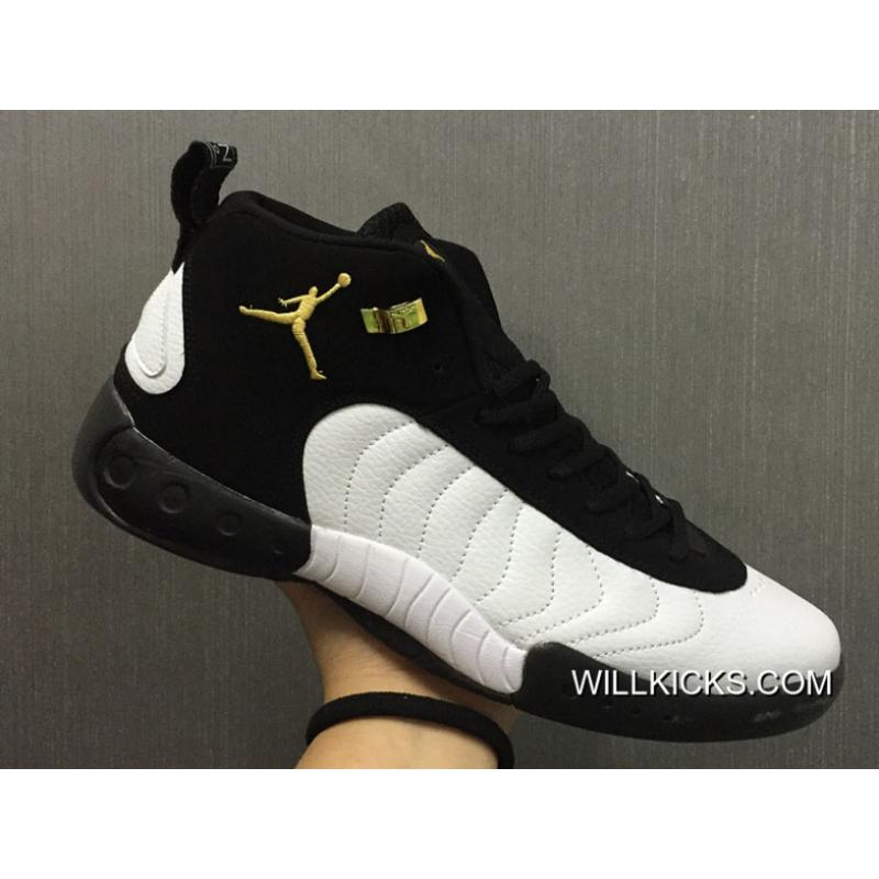 "32d79af06 Outlet New Jordan Jumpman Pro OG ""Taxi"" Black White-Metallic Gold ..."