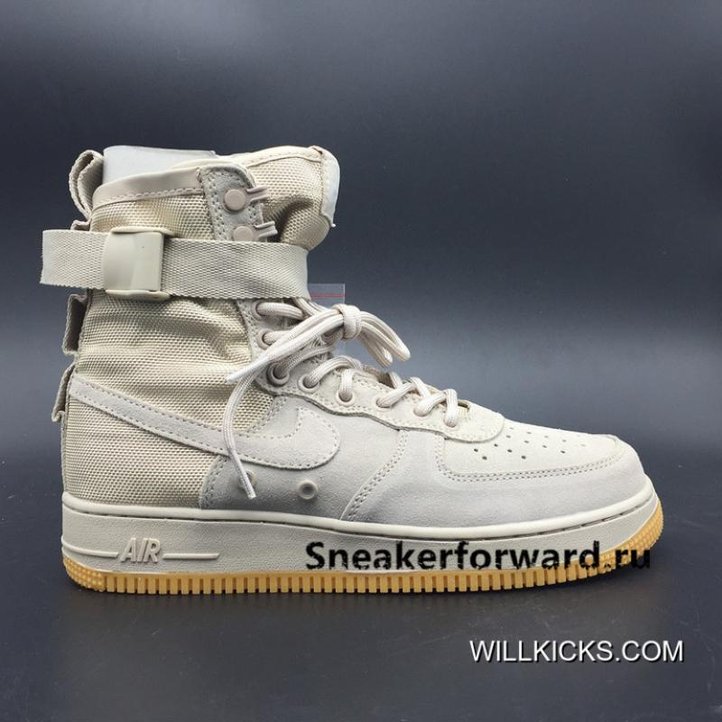 Nike Special Forces Air Force 1 Boots Nike SF AF 1 'StringGum' Free Shipping