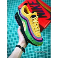 5078742eb7a6 Women Sean Wotherspoon Nike Air Max 97 Hybrid SKU 175065-251 New Style