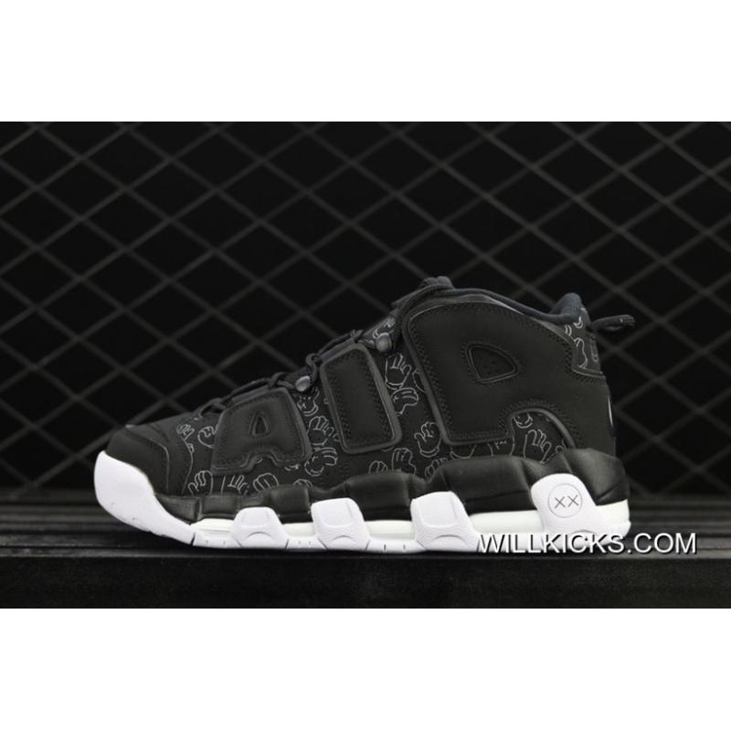 "324b24f18ffdc New Year Deals Kaws X Nike Air More Uptempo ""Graffiti"" Black ..."