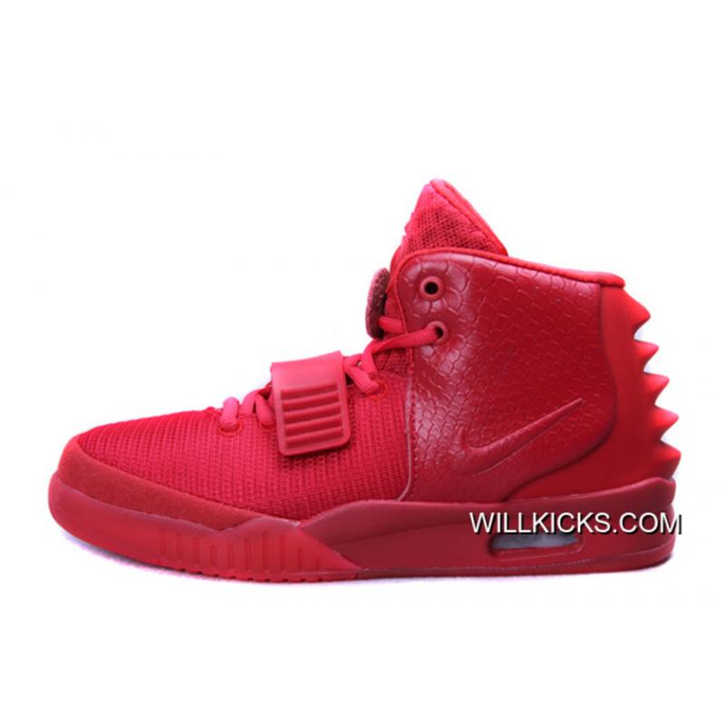 """Temblar frente Dificil  Nike Air Yeezy 2 """"Red October"""" Glow In The Dark Latest, Price: $94.88 -  Sneakers, Kicks, Free Shipping Now - WillKicks.com"""