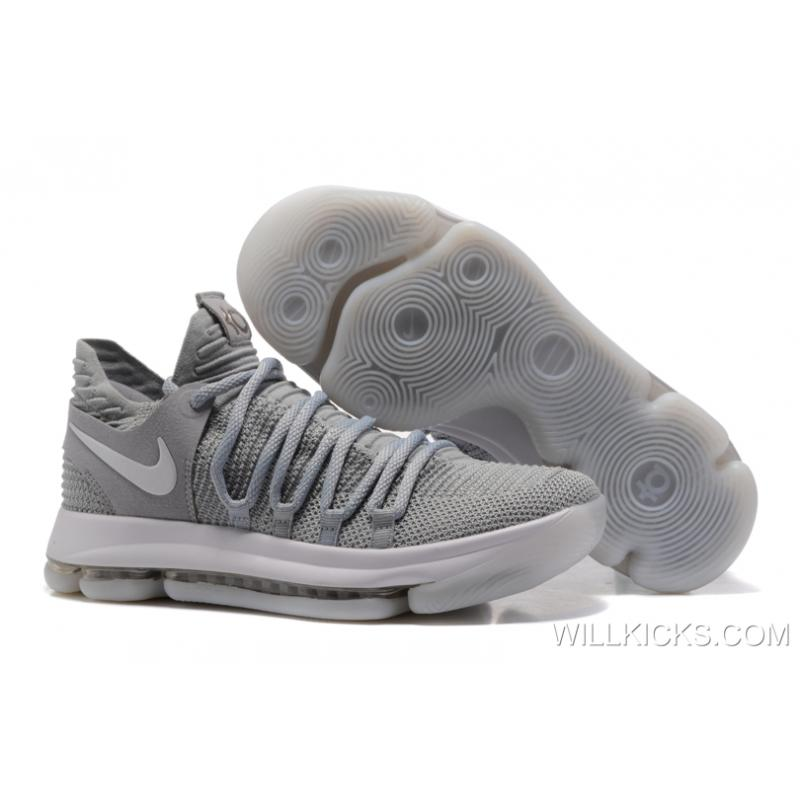"For Sale Nike KD 10 ""Cool Grey"" ..."