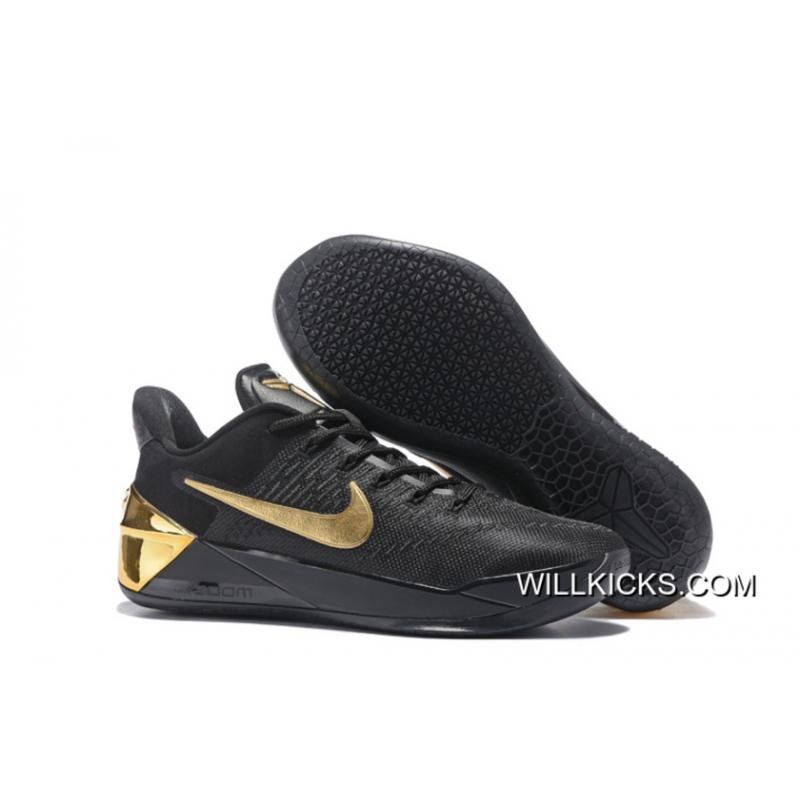 New Style Nike Kobe A.D. Black Gold Red