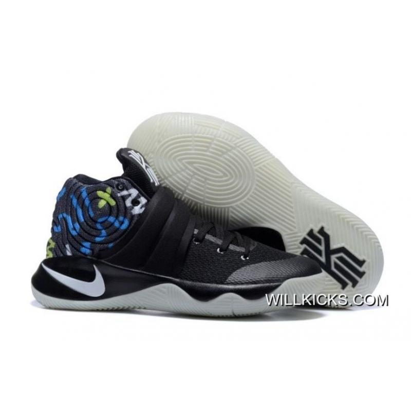 8a9f1328fda8 Nike Kyrie 2 Black Multi-Color Basketball Shoes Top Deals ...