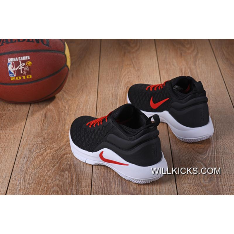 697855318417 ... Top Deals Nike Lebron Witness 2 Flyknit Black Red-White ...