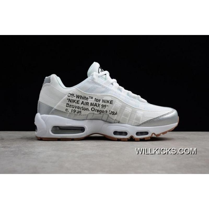 Super Deals Men Off White X Nike Air Max 95 Running Shoe SKU:125513