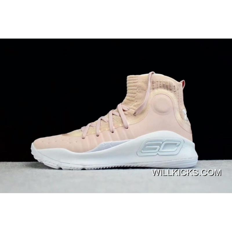"9eac2a9eb996 Top Deals Under Armour Curry 4 ""Flushed Pink"" ..."