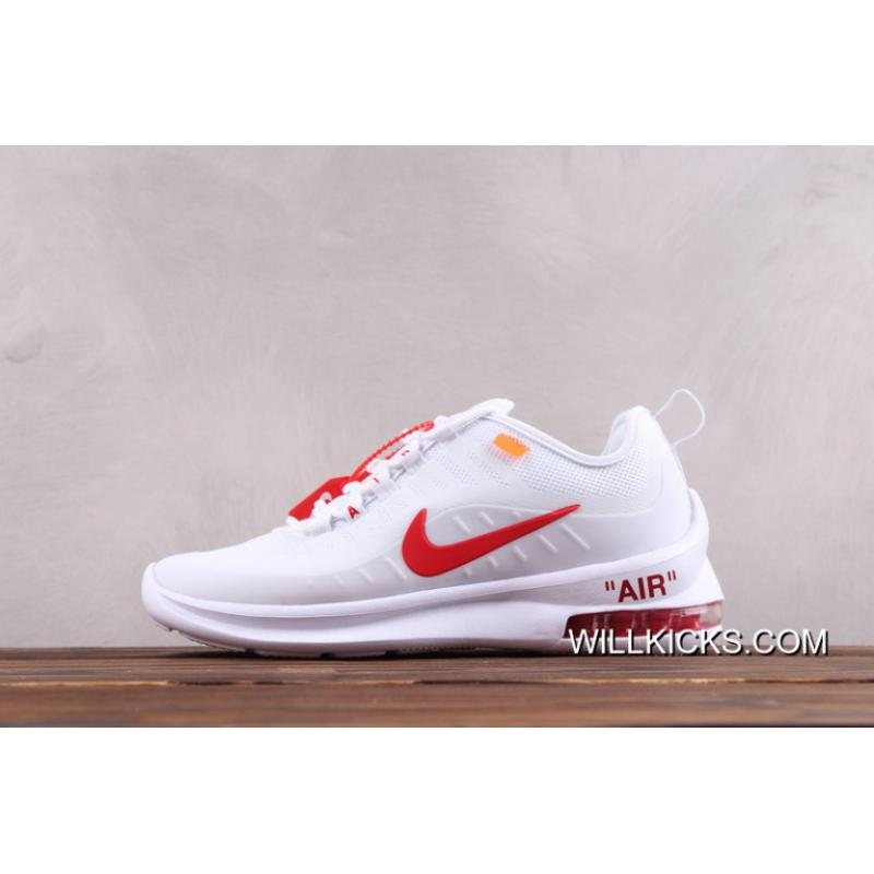 Women OFF WHITE X Nike Air Max 20 Sneakers SKU:22083 299 New Year