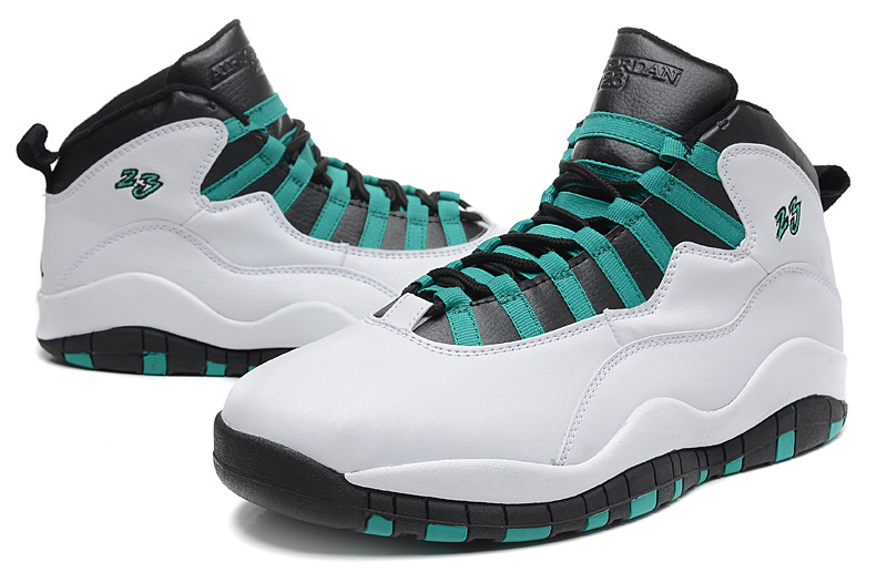 "info for 232f0 8a5a0 New Air Jordan 10 Retro ""Verde"" White/Verde-Black-Infrared 23 Latest"