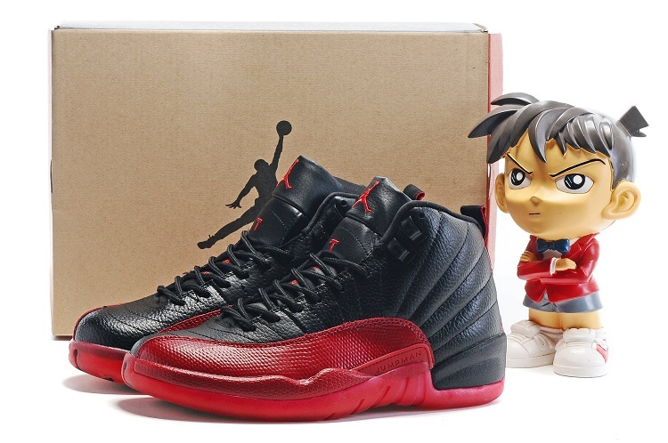 "79ff37b6d8c6 For Sale Air Jordan 12 ""Flu Game"" Black Varsity Red"