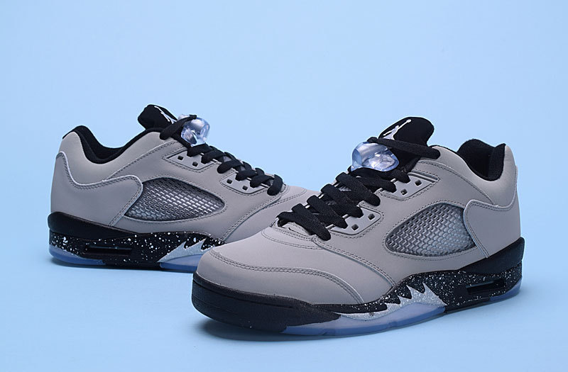 """outlet store 31b1e 5c589 Air Jordan 5 Low """"Wolf Grey"""" Wolf Grey/Black-Black New Year Deals"""