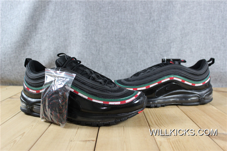 separation shoes d8d07 4fa7e Nike Air Max 97 OG/UNDFTD Undefeated Black Super Deals