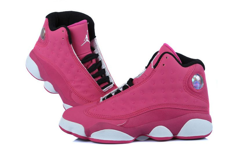 buy cute incredible prices Super Deals New Air Jordan 13 GS Fusion Pink/Black-White, Price ...
