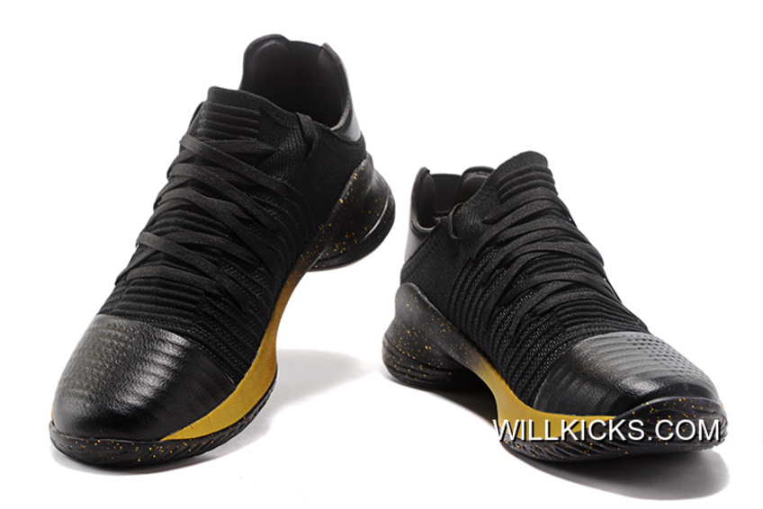 d55d2e3aa20f Outlet Girls Under Armour Curry 4 Low Black Gold
