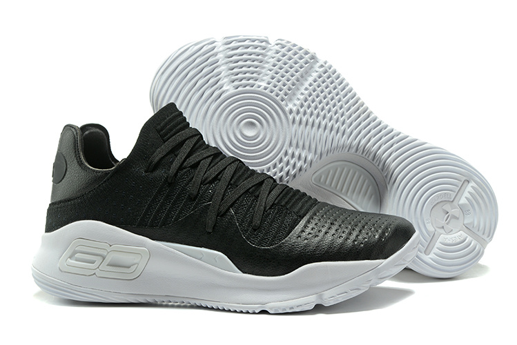 1aa6bec6d734 Girls Under Armour Curry 4 Low Black White Latest