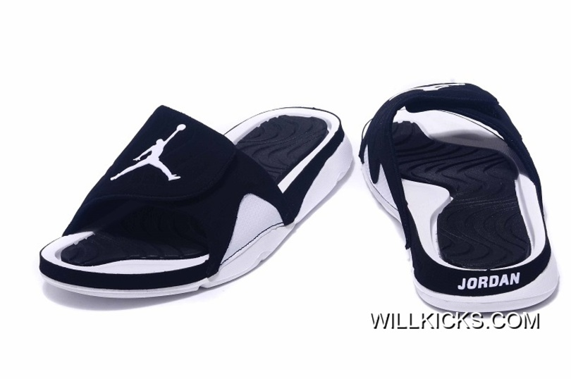 a7790eef7515 Discount Air Jordan Hydro IV Retro Black White