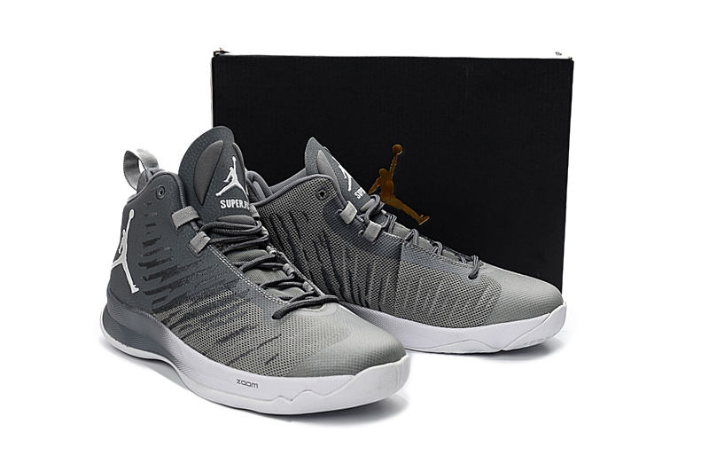 b73fb4a19f9b40 New Jordan Super.Fly 5 Cool Grey Wolf Grey White New Release