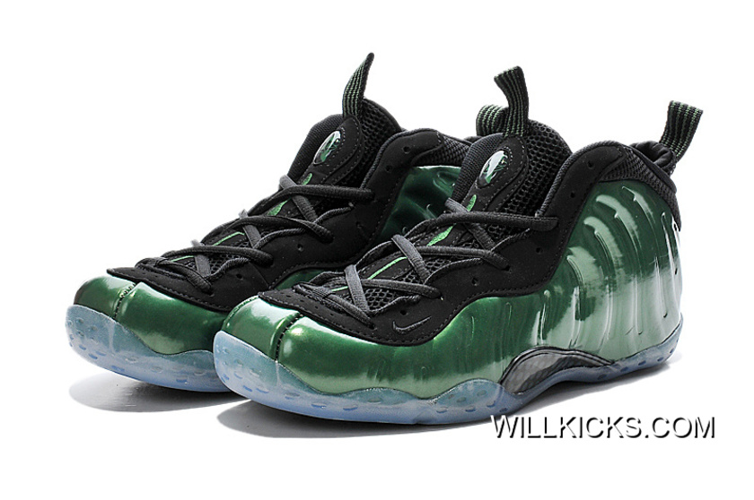 official photos 5aeef 78021 Nike Air Foamposite One Metallic Green Free Shipping