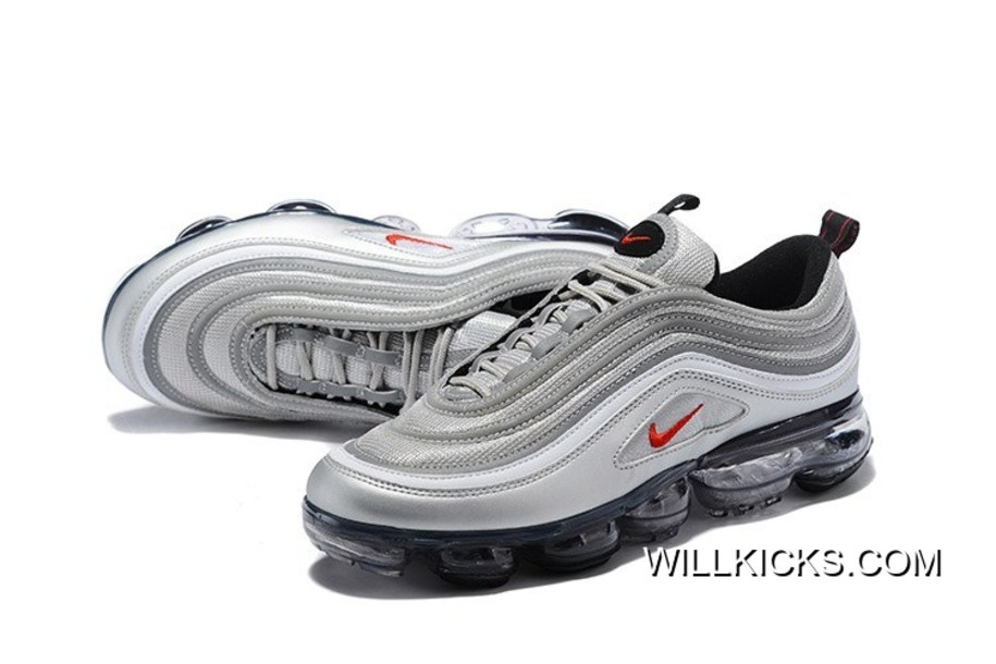 """0e915f412d2f Nike Air VaporMax 97 """"Silver Bullet"""" For Sale"""