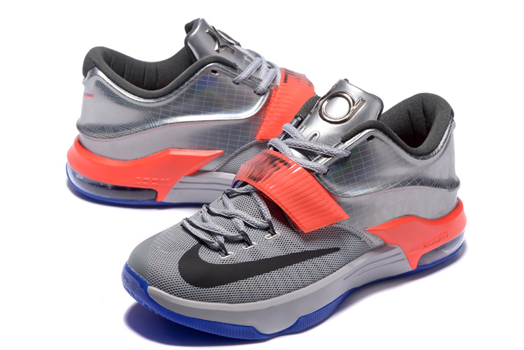 "029ed03ff4fe Discount Nike KD 7 ""All-Star"" Pure Platinum  Multi-Color-Black ..."