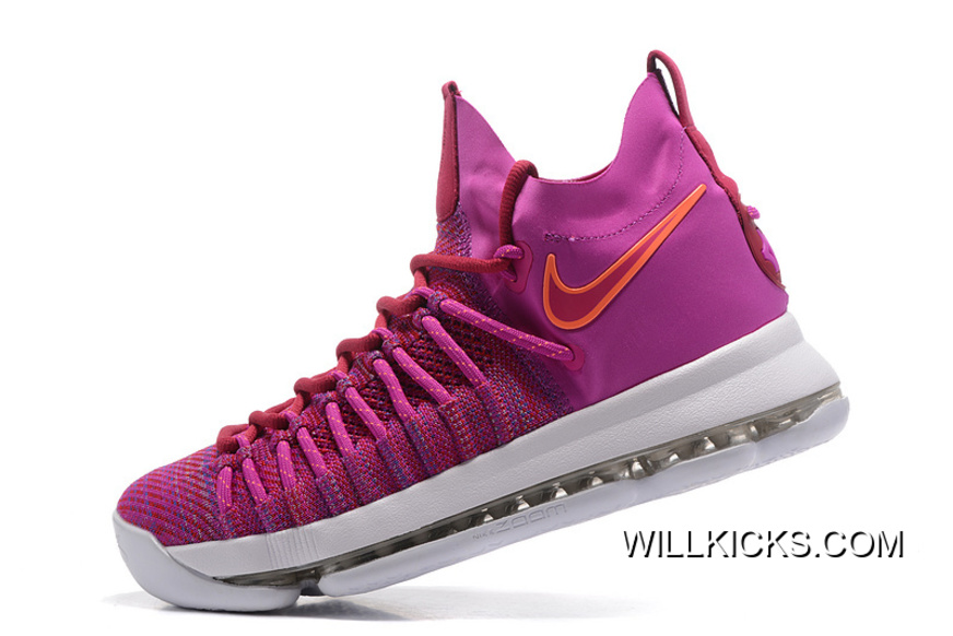 """new products 9065d f350a Free Shipping Nike Zoom KD 9 Elite """"Racer Pink"""""""