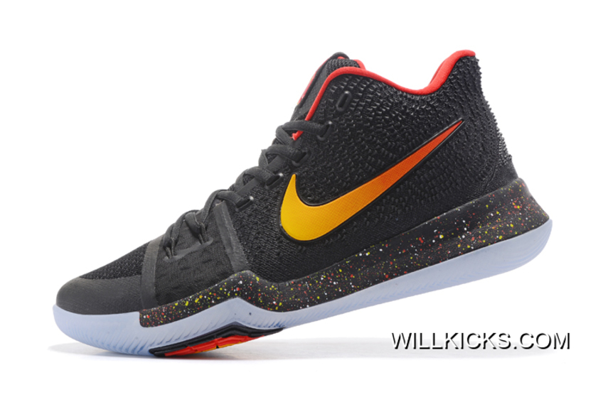 new arrival 0a85b c2bf8 ... czech nike kyrie 3 black red yellow pe new year deals c87b6 96419