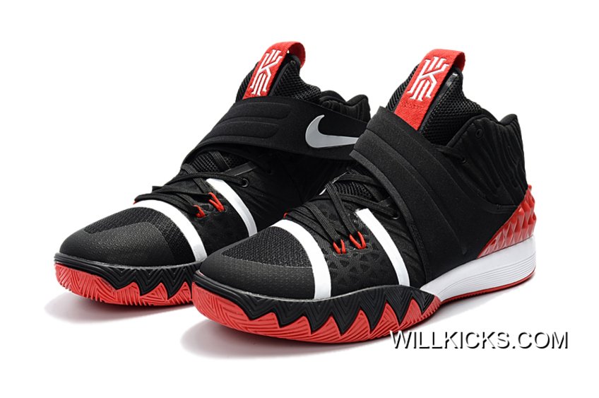 factory authentic 742c2 3d598 Nike Kyrie S1 Hybrid Black Red-White Discount