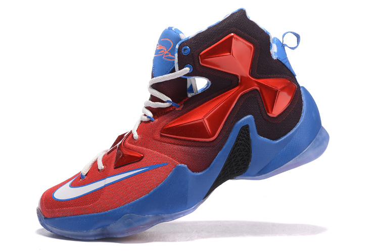 "Nike LeBron 13 ""USA"" Red White-Blue Basketball Shoes Top Deals ... 691623496818"