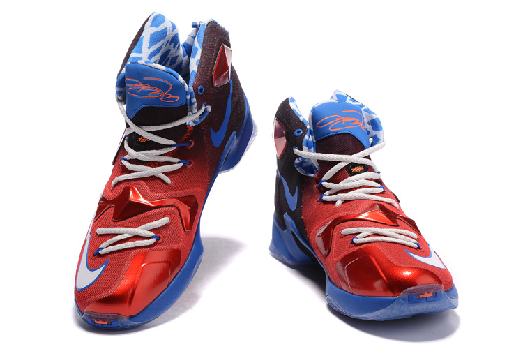 pretty nice 3325c 16a3b ... black metallic p4mkk  nike lebron 13 usa red white blue basketball shoes  top deals