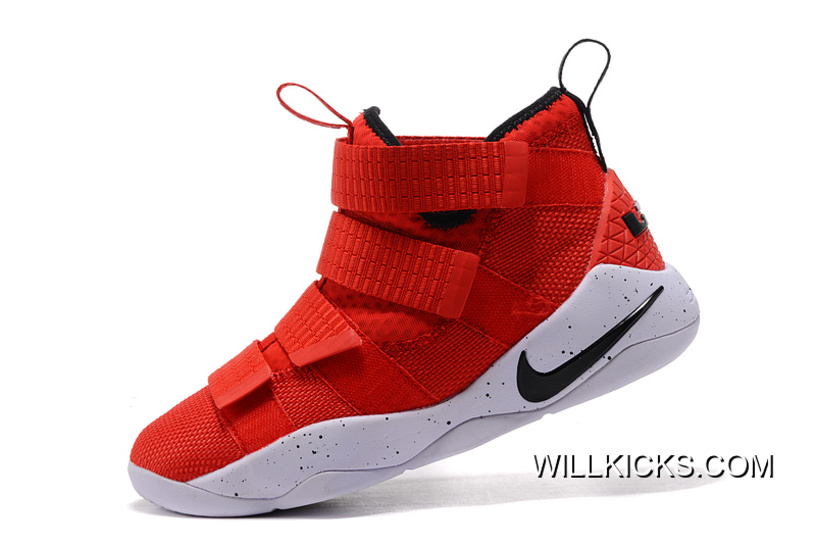 "ae17bdc784c2 Top Deals Nike LeBron Soldier 11 ""University Red"""