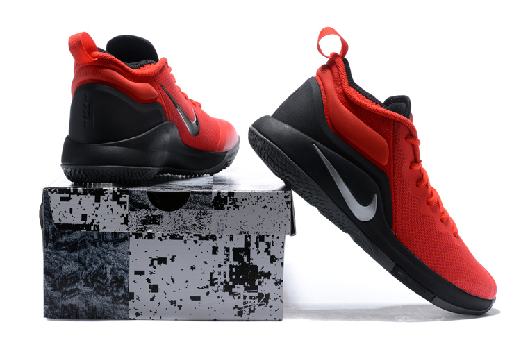new style 95744 96830 Nike LeBron Zoom Witness 2 Red Black Basketball Shoes Super Deals