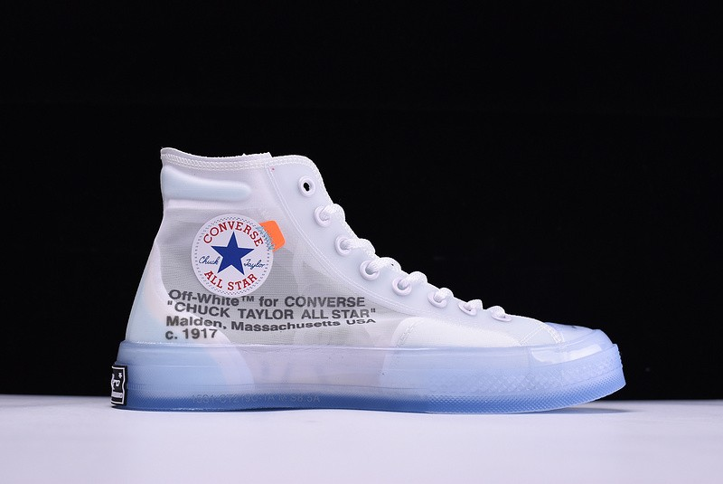 deca238f2faf Outlet Off-White X Converse Chuck Taylor All Star High Tops White ...