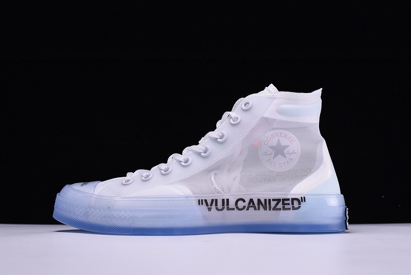 e08ce4239248 Outlet Off-White X Converse Chuck Taylor All Star High Tops White ...