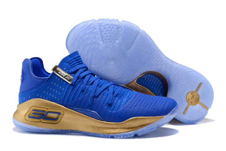 Under Armour Curry 4 Low Royal Blue