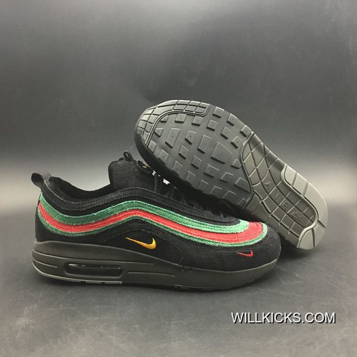 f437f0d84b Women Sean Wotherspoon Nike Air Max 97 Hybrid SKU:182849-263 New Release